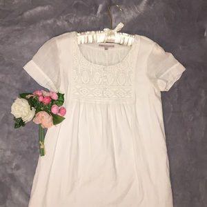 Beautiful Gap white midi dress 100% cotton